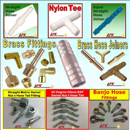 Hose Joiners, Fittings & Adaptors